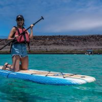 Activity SUP Santa Fe Galapagos Ecuador courtesy of Metropolitan Touring Contours Travel