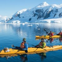 Antarctica Aurora Expeditions kayaking