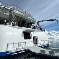 Antarctica Greg Mortimer Aurora Expeditions platforms