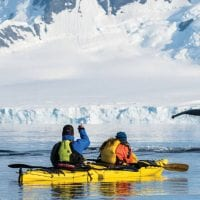 One Ocean expedition kayaking in Antarctica Contours Travel
