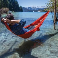Hammock in Bariloche Lake District Patagonia Argentina Alchemy Contours Travel