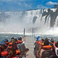 Activity speed boat Iguazu Waterfalls Argentina Alchemy Contours Travel