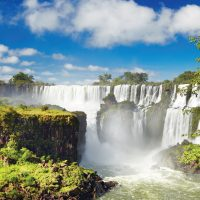 Landscape of Iguazu Waterfalls Best of Argentina & Brazil Argentina Alchemy Contours Travel