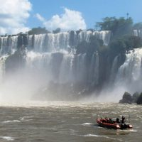 Great Adventure Speedboat in Iguazu Waterfalls Brazil Argentina TimPierik Contours Travel