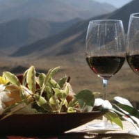 Wine and food in Mendoza Argentina Gov Contours Travel