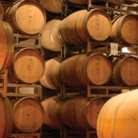 Wine barrels in Mendoza Argentina Gov Contours Travel