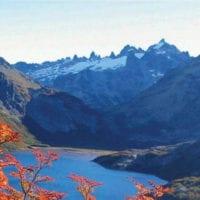 Landscape Cruce Andino, Bariloche Lakes district Patagonia Argentina Eurotur Contours Travel
