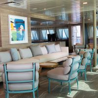 Bar Lounge La Pinta Cruise Galapagos Ecuador courtesy of Metropolitan Touring Contours Travel