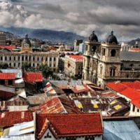 Rooftop view of La Paz Bolivia Contours Travel