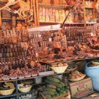 Bolivia Witches' market in La Paz. Protour Contours Travel