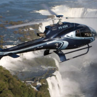 Helicopter flight over Iguazu Waterfalls Brazil Argentina Eurotur Contours Travel
