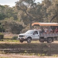 Brazil Araras Pantanal EcoLodge - Photo Safari truck Contours Travel