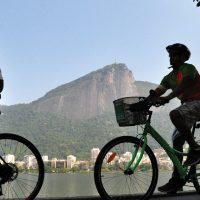Lagoa Rodrigo de Freitas cycling Rio de Janeiro Brazil BIT Alexandre Macieirariotur