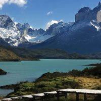 Landscape lake Torres del Paine Patagonia Chile CTS Contours Travel