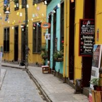 Street of Valparaiso Chile Protours Contours Travel