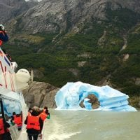 Activity Grey Lake Paine Patagonia Chile Protours Contours Travel