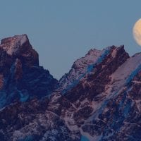 Chile Protours Moon over Torres del Paine Contours Travel