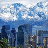 Landscape of Santiago Chile Protours Contours Travel