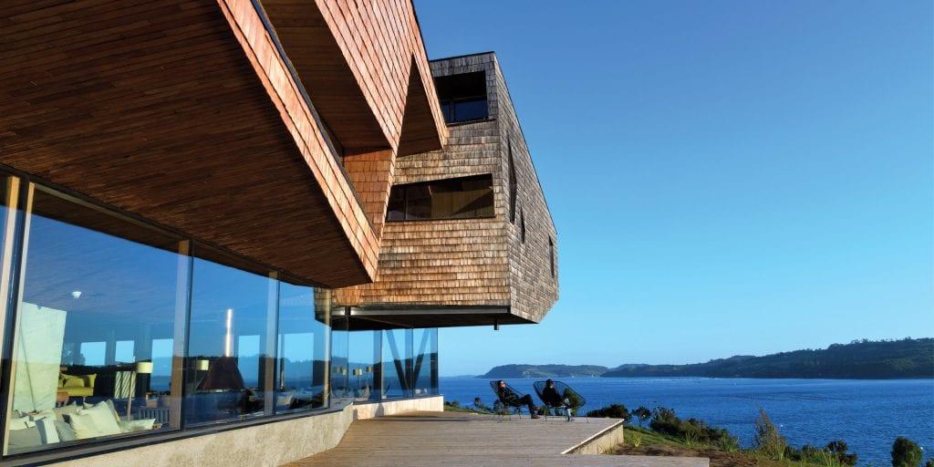 Chile Tierra Chiloe building