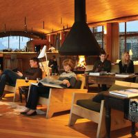 Chile Tierra Patagonia cosy social area Contours Travel