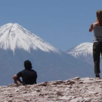 Contours Travel- Volcano in Atacama Desert Chile