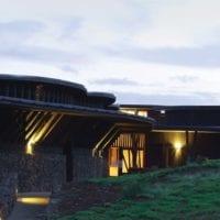 Chile Easter Island Explora Rapa Nui building Contours Travel