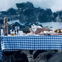 Chile Easter Island Explora lunch during expedition