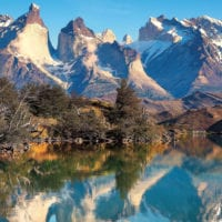 Patagonia South America Chile Torres del Paine Contours Travel