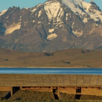 Chile Tierra Patagonia panoramic view of the building Contours Travel