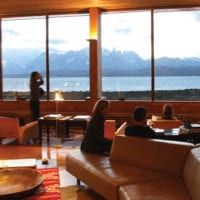 Chile Tierra Patagonia living room Contours Travel