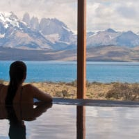 Chile Tierra Patagonia panoramic view from the pool Contours Travel