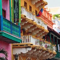 Buildings Cartagena de Indias Colombia Contours Travel