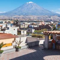 Peru Arequipa city Contours Travel