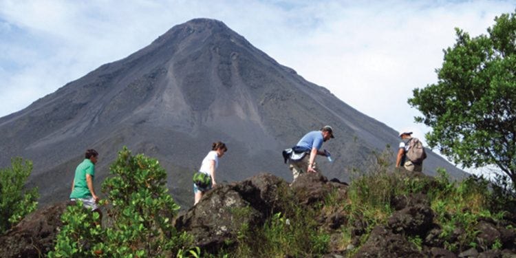 Hike in Arenal Volcano Costa Rica Central America Contours Travel