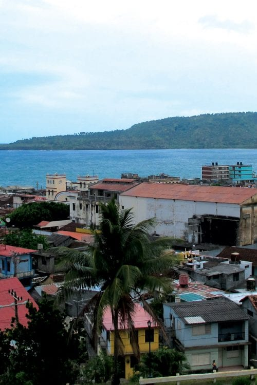 View of Baracoa Cuba Contours Travel