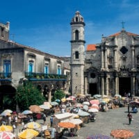 Plaza & Cathedral in Havana Cuba Contours Travel