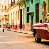 Street with Classic cars in Havana Cuba iStock Contours Travel