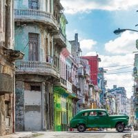 Sreet with classic car in Havana Cuba Pixabay Contours Travel