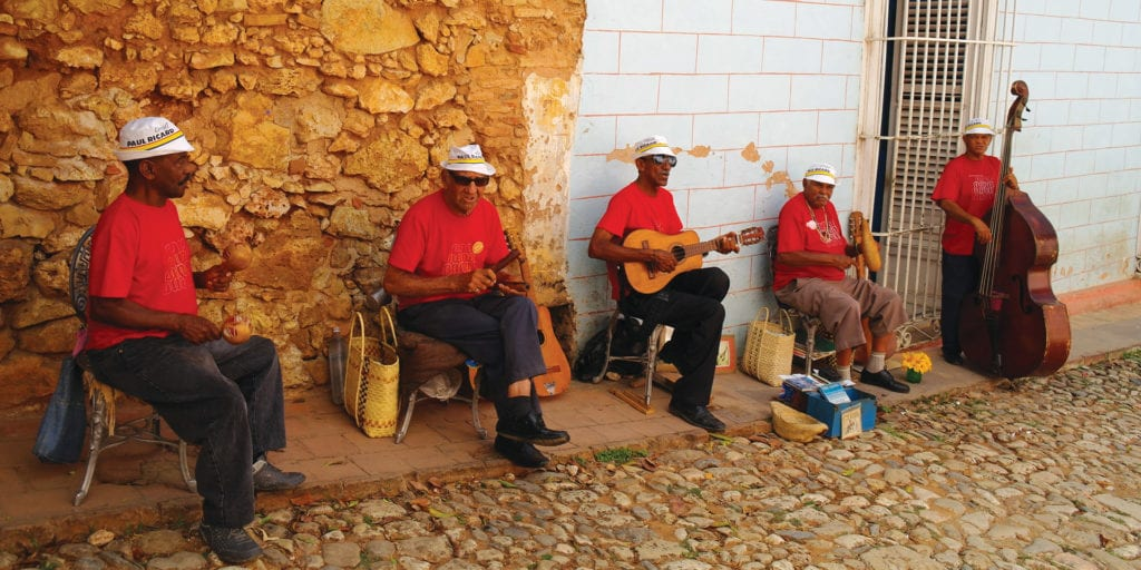 Street Musicians in Cuba Contours Travel