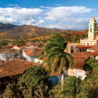 Landscape in Trinidad Cuba Contours Travel
