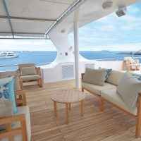 Seastar Journey Sundeck Galapagos Ecuador Latin Trails