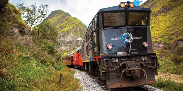 Tren Crucero (Guayaquil to Quito; Sat to Tue)