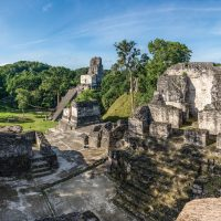 Contours Travel Tikal ruins in Guatemala