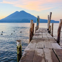 Lake Atitlan Guatemala Contours Travel