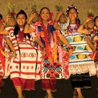 Mexico SECTUR mexico oaxaca guelaguetza ladies