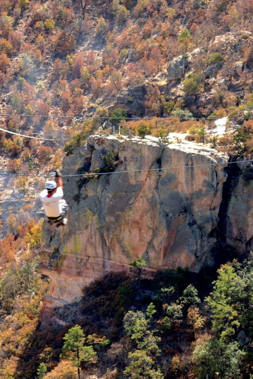 Mexico Ted Copper Canyon Zipline