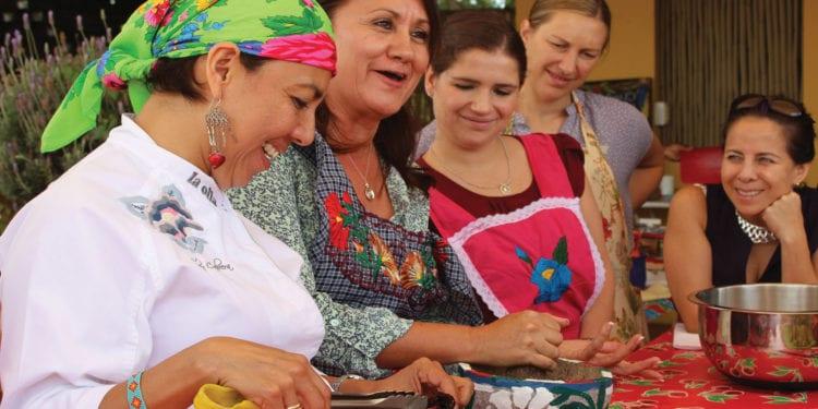 Mexico food culinary Oaxaca Cuisine Herdez Condor Verde Contours Travel