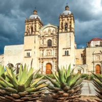 Santo Domingo Ex-Convent Oaxaca Mexico Canva Sectur Contours Travel