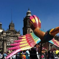 Art Alebrije in Zocalo Mexico City Contours Travel Mexico