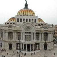 Bellas Artes in Mexico City Mexico Contours Travel